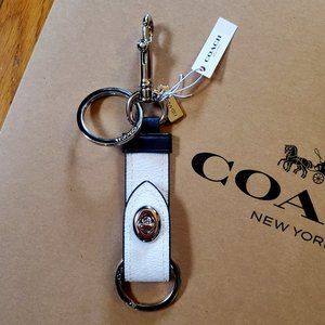 Coach Trigger Turnlock Valet Bag Charm - NWT